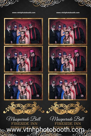 Photo Strips - 2/23/19 - Fireside Inn Masquerade Ball