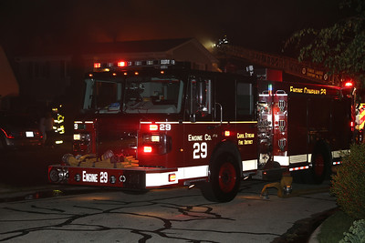 Carol Stream Box Alarm House Fire, 610 Nez Perce Ct., 7-12-2013