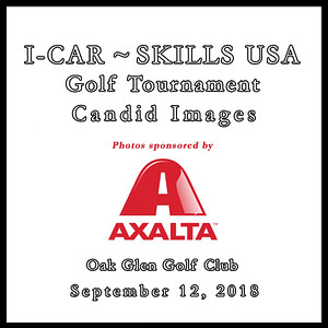 I-CAR ~ SKILLS USA Golf Candid Images Sept. 12, 2018