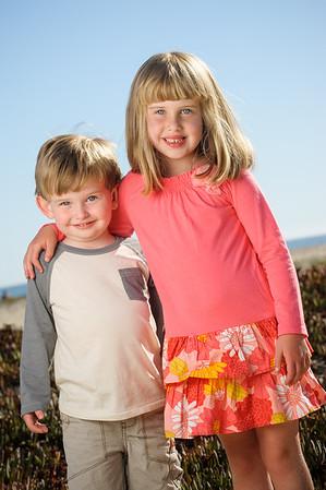 Casey + Michael = Claire > Devin (Family Photography, Seabright Beach, Santa Cruz, California)