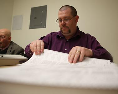 Bennington Town Office holds recount. 030819