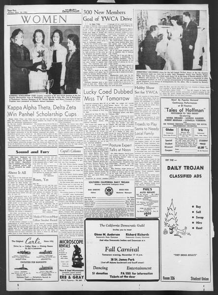Daily Trojan, Vol. 43, No. 44, November 16, 1951