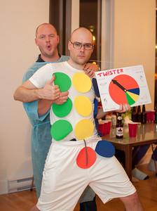 Party Halloween chez Martin Lavoie
