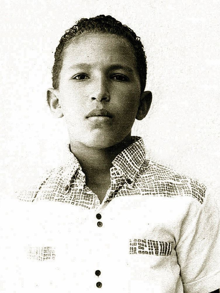 Description of . Venezuela's President Hugo Chavez is pictured during his school years in his hometown of Barinas, in this undated handout photo provided by Venezuela's Ministry of Information and Communication. REUTERS/Ministry of Information and Communication/Handout