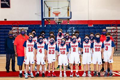 2021 Middle School Varsity Basketball