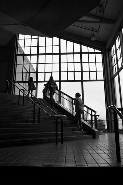 Staircase at Monterey Bay Aquarium