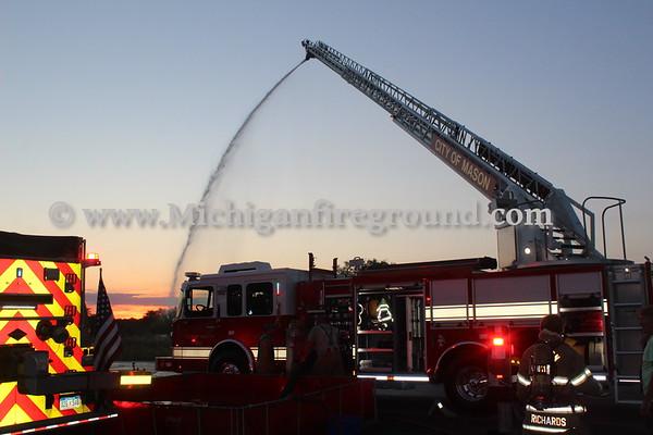8/21/20 - Mason Fire Department training