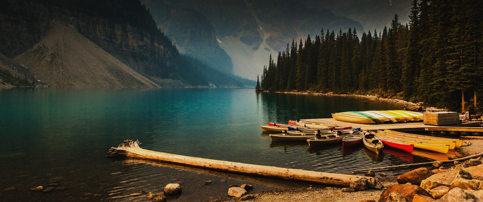 加拿大梦莲湖,有梦的地方