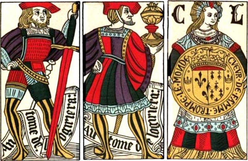 Spanish playing cards c.1500
