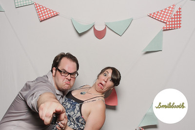 heather & keith SMILEBOOTH!