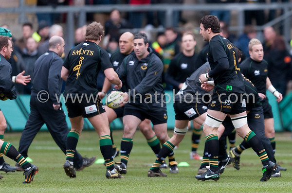 Northampton Saints vs Leeds Carnegie, LV= Cup, Franklin's Gardens, 5 February 2011