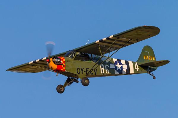 OY-ECV - Piper J3C-65 Cub (O-59A/L-4A-PI)