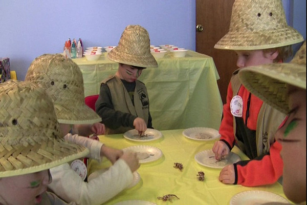 12.06.08 Zane's Dinosaur Birthday Party - Part Two