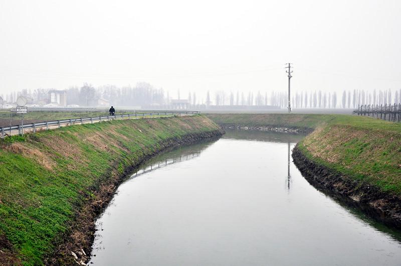 Naviglio Canal - Albareto, Modena, Italy - January 15, 2010