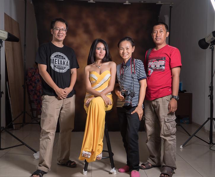 Workshop Creative Lighting dengan lampu studio 20 September 2015