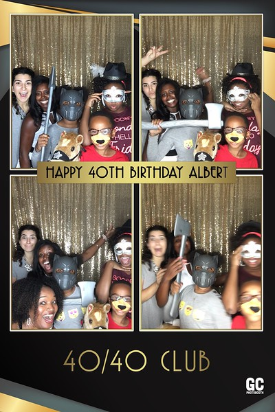 Albert's 40th Birthday photos