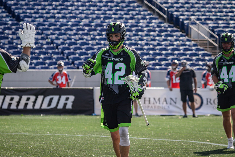 7/23/2020; Annapolis, MD, USA; Lizards vs. Barrage  - at Navy Marine Corps Memorial Stadium. Mandatory Photography Credit: Anne Evans
