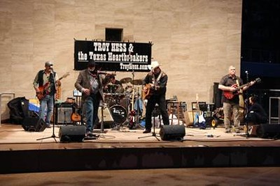 2017 03-04 Roland with Troy Hess & Texas Heart Breakers