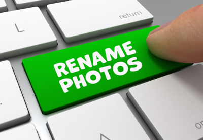 Lightroom - How To Rename Images