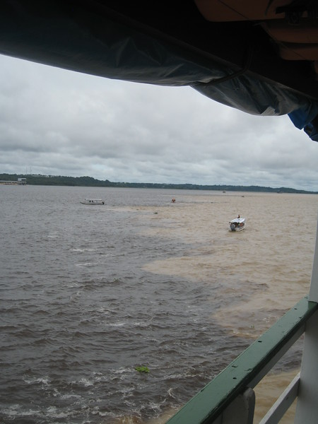 Meeting of the Waters Cruise, Manaus, Amazon River, Brazil