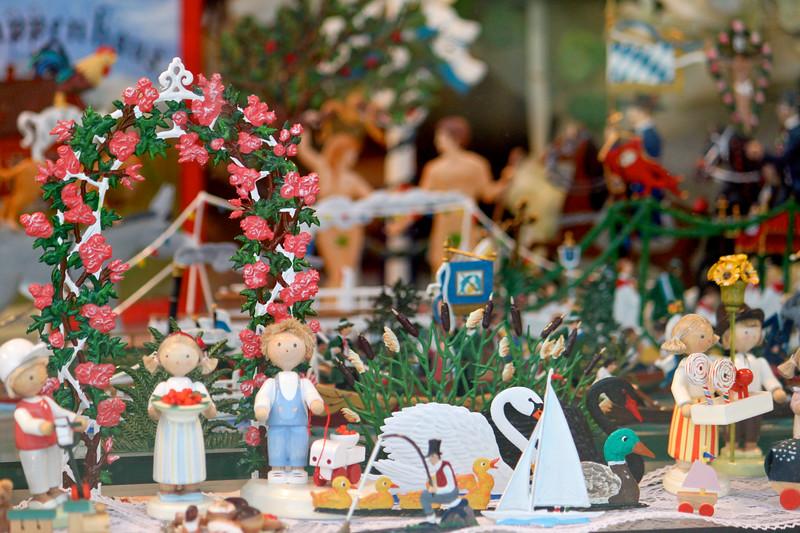 A shop window in Freiburg