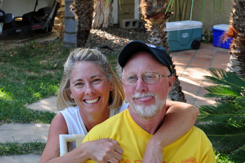My destination for Sunday night (Father's Day) was my home town of Simi Valley, CA.  My friends Paul and Suzie bought  my old house 20 years ago and still live there.