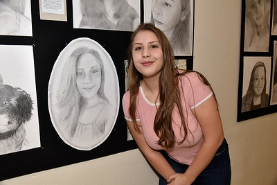 Check Out Our Self-Portrait Pencil Drawings photos by Gary Baker