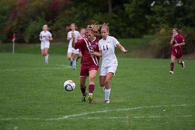 10/8/16: Girls' JV Soccer v Hopkins School
