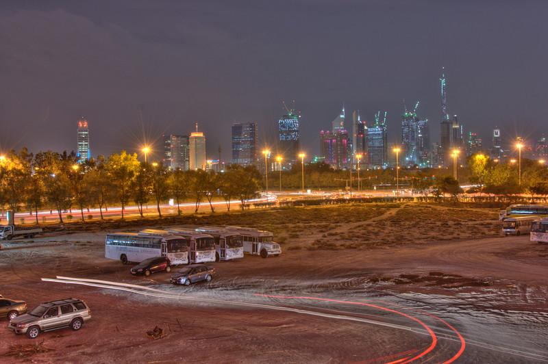 Dubai Skyline HDR 2