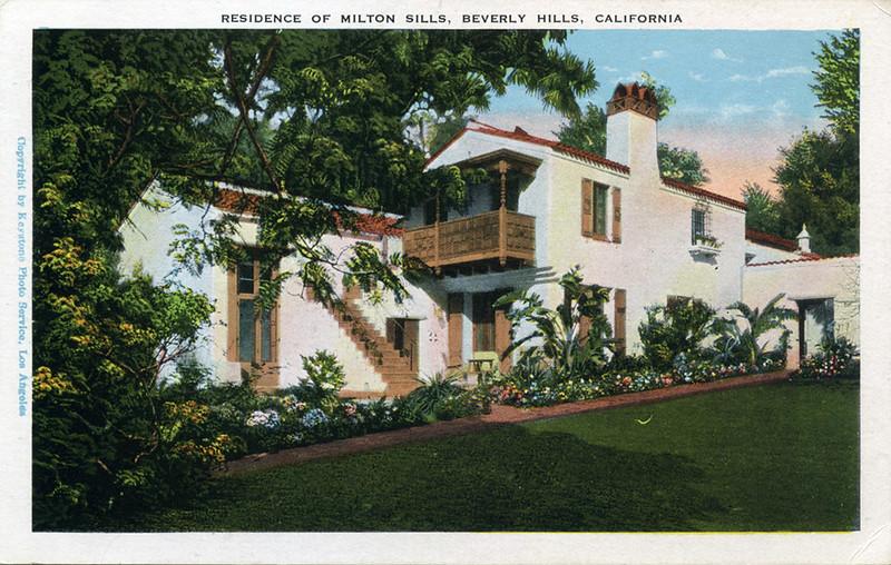Residence of Milton Sills