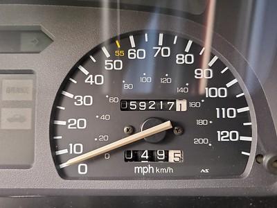 91 Honda Civic Hatchback
