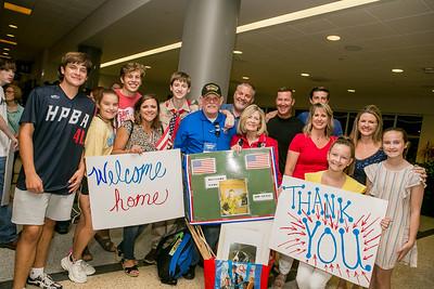 Honor Flight Houston Homecoming