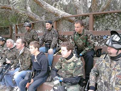 Men's Ministry Paintball Day