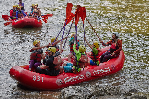 W.E.L.S. adventure on the Lower Yough with Wilderness Voyageurs 2019