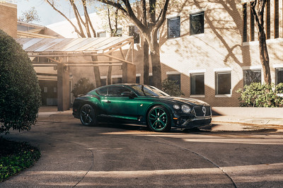The Detail Lab - Green Bentley