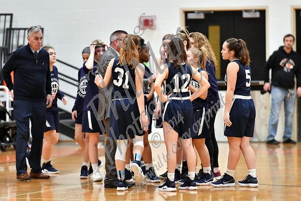Wyomissing vs Antietam Girls High School Basketball 2018 - 2019