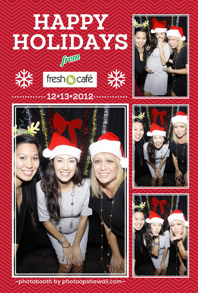Fresh Cafe Holiday Party (Photo Booth)