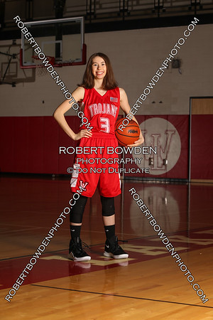 Whitmore Lake Women's Basketball Team Photos 2018