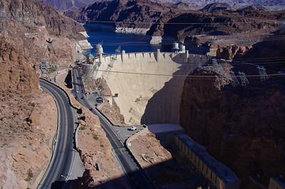 Hoover Dam & New Bridge