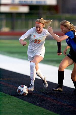 St. Charles East vs St. Charles North girls soccer
