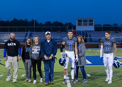 2019 Football Senior Night