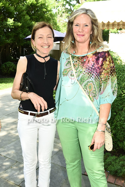 Joan Vecsey and Teri Meekann attend the Catwalk for Canines ethical & eco fashion show to benefit the Southampton Animal foundation at the Southampton Social Club in Southampton on Saturday, June 10, 2017.