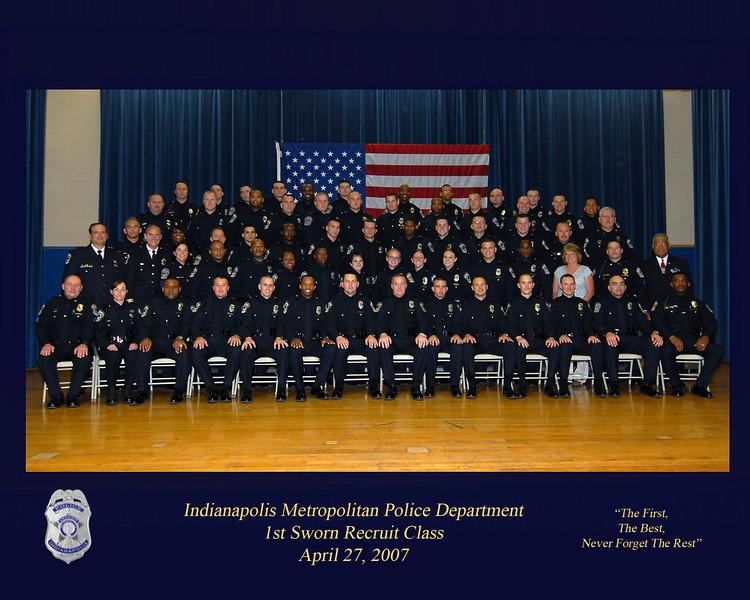 1st impd recruit classapril 2007 grad class impd copy