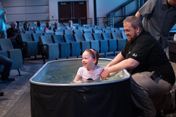 2019 April Urish Baptisms