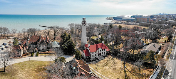 Gross Point Lighthouse Evanston March 2019