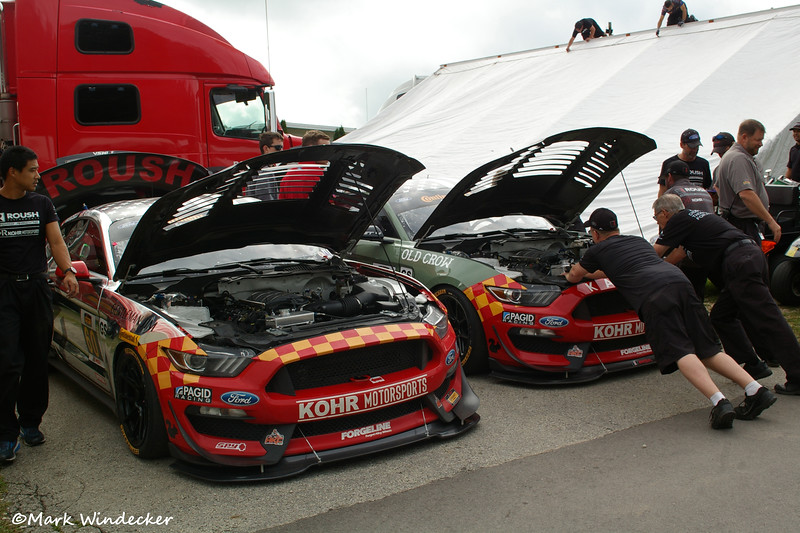 Roush Performance / KohR Motorsports Ford Mustang GT4