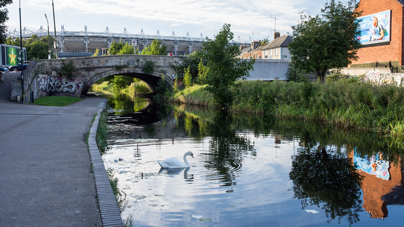 Royal Canal in Dublin
