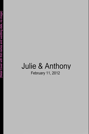 Julie & Anthony's Album Proofs