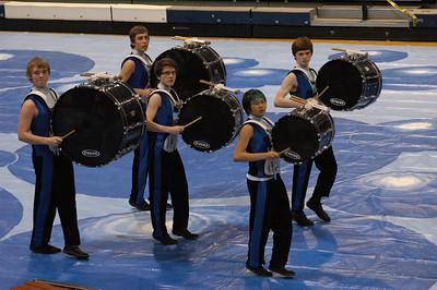 Winter Percussion (Blue Line)