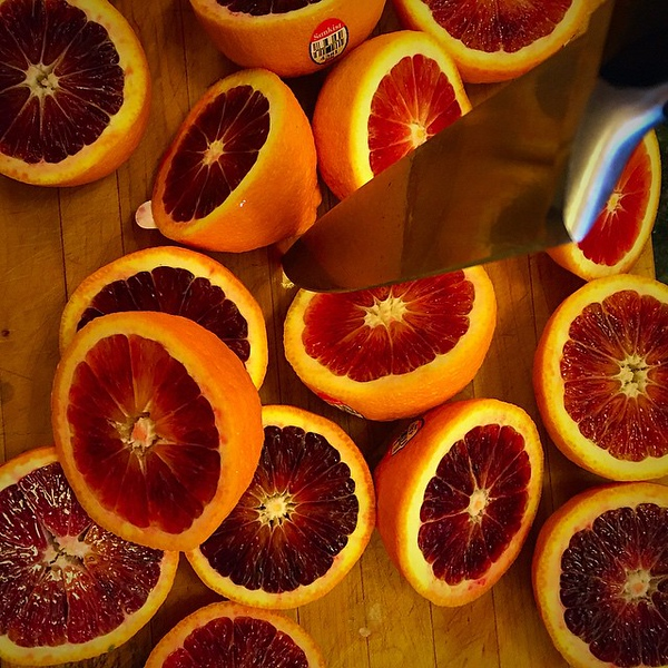 Blood oranges now, #cocktails later #foodie #foodgram #bloodoranges